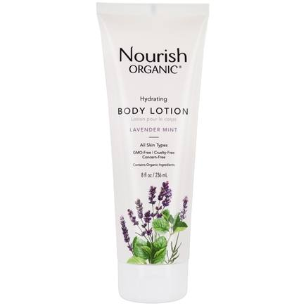 Nourish - Organic Body Lotion Lavender Mint - 8 oz. LUCKY PRICE