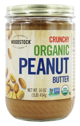 Woodstock Farms - Organic Peanut Butter Crunchy - 16 oz.