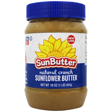 Sunbutter - Sunflower Spread Natural Crunch - 16 oz.