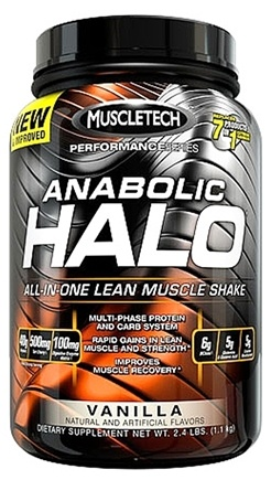 DROPPED: Muscletech Products - Anabolic Halo Hardcore Pro Series Vanilla - 2.4 lbs.