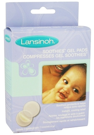 DROPPED: Lansinoh - Soothies Gel Pads for Sore Nipples - 2 Pad(s) CLEARANCE PRICED