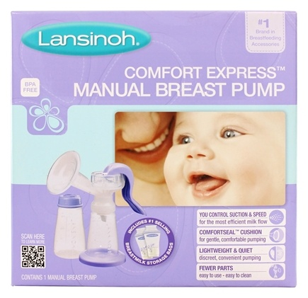 DROPPED: Lansinoh - Manual Breast Pump - CLEARANCED PRICED
