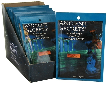 DROPPED: Ancient Secrets - Aromatherapy Dead Sea Mineral Bath Evergreen Forest - 4 oz. CLEARANCED PRICED