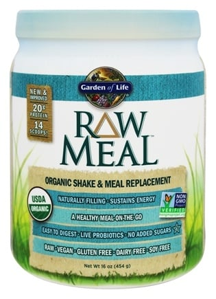 Garden of Life - Raw Meal Beyond Organic Snack and Meal Replacement Original - 1.31 lbs.