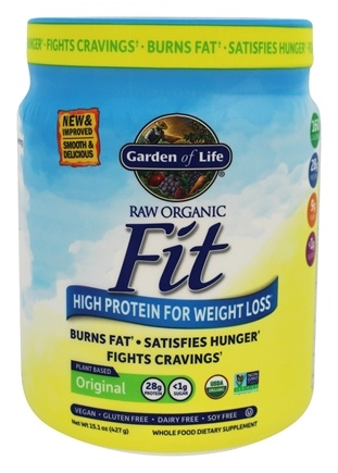 DROPPED: Garden of Life - Raw Fit High Protein for Weight Loss - 16 oz.