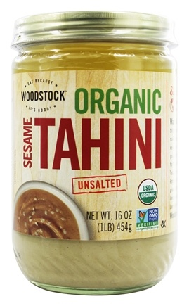 Woodstock Farms - Organic Sesame Tahini Unsalted - 16 oz.