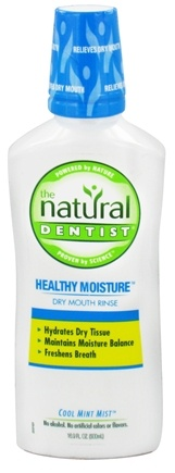 DROPPED: Natural Dentist - Healthy Moisture Dry Mouth Rinse Cool Mint Mist - 16.9 oz.