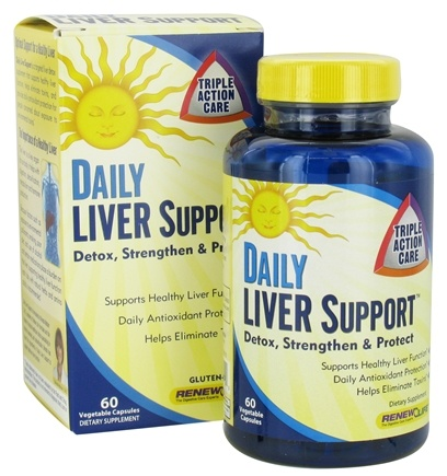 DROPPED: ReNew Life - Daily Liver Support - 60 Capsules