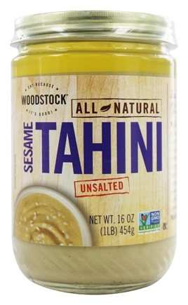 Woodstock Farms - All-Natural Sesame Tahini Unsalted - 16 oz.