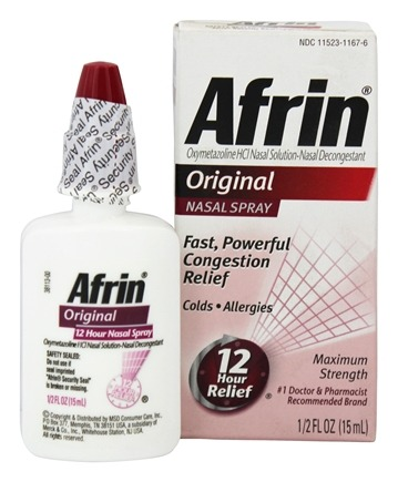 DROPPED: Afrin - Nasal Spray Original - 0.5 oz. CLEARANCE PRICED