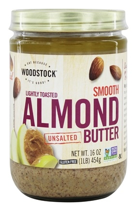 Woodstock Farms - Smooth Lightly Toasted Almond Butter Unsalted - 16 oz.