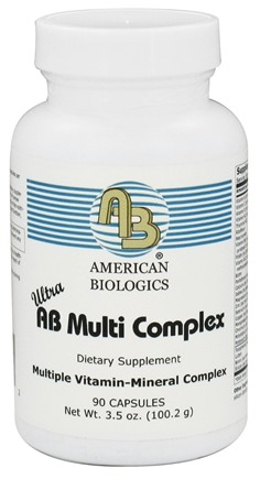 DROPPED: American Biologics - AB Multi Complex - 90 Capsules CLEARANCED PRICED