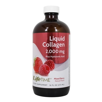 LifeTime Vitamins - Liquid Collagen Berry 2000 mg. - 16 oz.