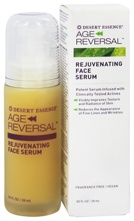 DROPPED: Desert Essence - Age Reversal Rejuvenating Face Serum - 0.95 oz.