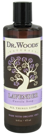 DROPPED: Dr. Woods - Organic Castile Soap Lavender - 16 oz. CLEARANCE PRICED