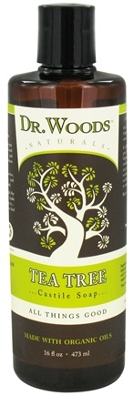 DROPPED: Dr. Woods - Organic Castile Soap Tea Tree - 16 oz. CLEARANCE PRICED