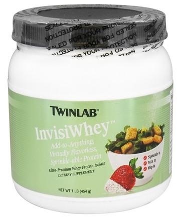 DROPPED: Twinlab - InvisiWhey Ultra-Premium Whey Protein Isolate - 1 lb. CLEARANCE PRICED