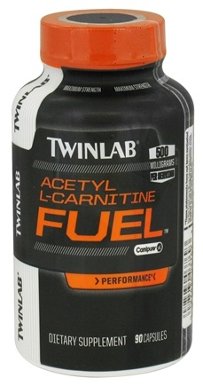 DROPPED: Twinlab - Acetyl L-Carnitine Fuel 500 mg. - 90 Capsules CLEARANCE PRICED