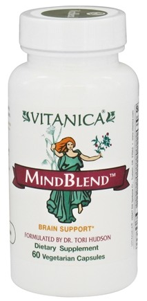 DROPPED: Vitanica - MindBlend Brain Support - 60 Vegetarian Capsules CLEARANCED PRICED