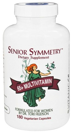 DROPPED: Vitanica - Senior Symmetry - 180 Vegetarian Capsules CLEARANCE PRICED