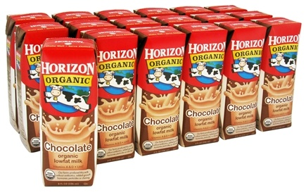 DROPPED: Horizon Organic - Organic Low Fat Milk Box Chocolate - 18 Pack