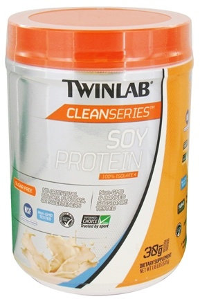DROPPED: Twinlab - Clean Series Soy Protein Unflavored - 1.18 lbs. CLEARANCE PRICED