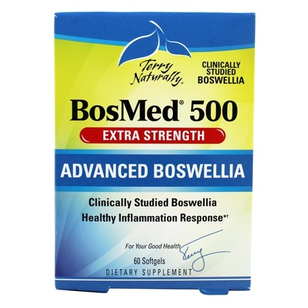 EuroPharma - BosMed 500 Extra Strength with BosPure Boswellia - 60 Softgels