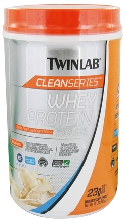 DROPPED: Twinlab - Clean Series Whey Protein Isolate Vanilla Wave - 1.5 lbs.