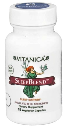 DROPPED: Vitanica - SleepBlend Sleep Support - 15 Vegetarian Capsules CLEARANCED PRICED