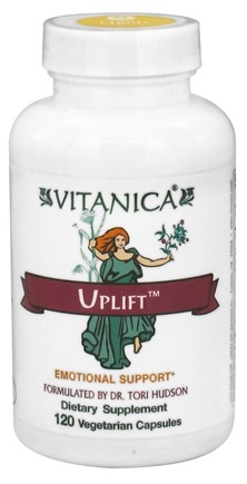 DROPPED: Vitanica - Uplift Emotional Support - 120 Vegetarian Capsules CLEARANCE PRICED