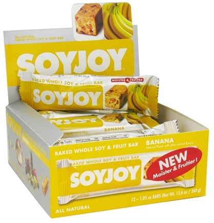 DROPPED: SoyJoy - All Natural Baked Whole Soy & Fruit Bar Banana - 1.05 oz.