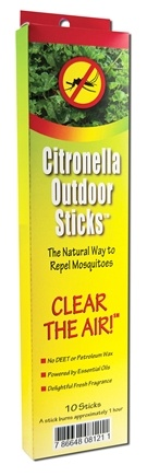 DROPPED: NeemAura Naturals - Citronella Outdoor Sticks - 10 Stick(s) CLEARANCE PRICED