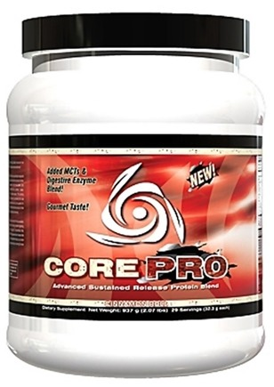DROPPED: Core Nutritionals - Core PRO Advanced Sustained Release Protein Blend Cinnamon Roll 29 Servings - 2.07 lbs. CLEARANCE PRICED