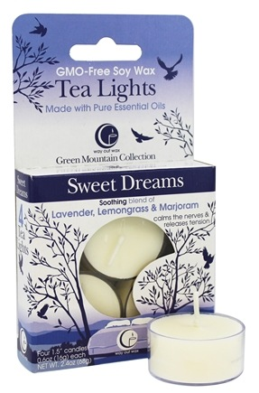 Way Out Wax - Tea Lights Sweet Dreams - 4 Pack