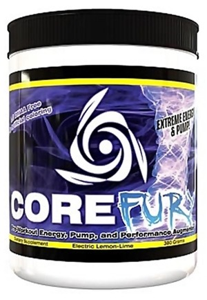 DROPPED: Core Nutritionals - Core Fury Electric Lemon-Lime - 380 Grams CLEARANCED PRICED