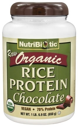 DROPPED: Nutribiotic - Organic Raw Rice Protein Chocolate - 1.69 lbs. CLEARANCE PRICED