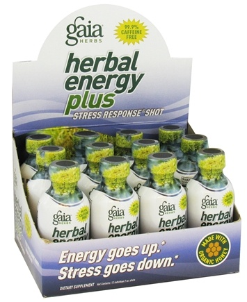 DROPPED: Gaia Herbs - Herbal Energy Plus Stress Response - 2 oz. CLEARANCE PRICED