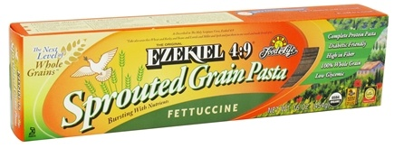 DROPPED: Food For Life - Ezekiel 4:9 Sprouted Whole Grain Pasta Fettuccine - 16 oz. CLEARANCE PRICED
