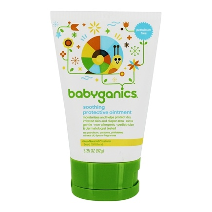 DROPPED: BabyGanics - Soothing Protective Ointment - 3.25 oz.