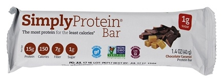 SimplyProtein - Protein Bar Chocolate Caramel - 1.4 oz.