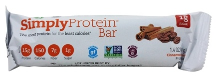 Simply Protein - Protein Bar Cinnamon Pecan Protein Bar - 1.4 oz.