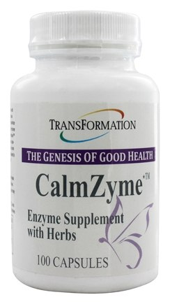 DROPPED: Transformation Enzymes - CalmZyme - 100 Capsules
