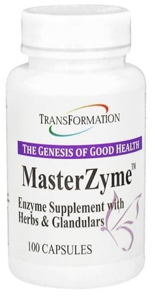DROPPED: Transformation Enzymes - MasterZyme - 100 Capsules CLEARANCED PRICED