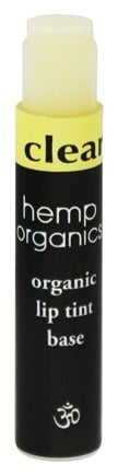 DROPPED: Colorganics - Hemp Organics Organic Lip Tint Base Clear - 0.09 oz.