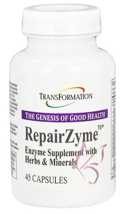 DROPPED: Transformation Enzymes - RepairZyme - 45 Capsules CLEARANCE PRICED