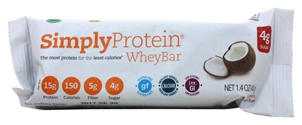 The Simply Bar - Simply Whey Protein Bar Coconut - 1.4 oz.