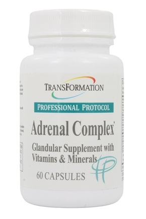 Transformation Enzymes - Adrenal Complex - 60 Capsules