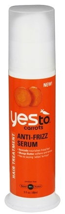 DROPPED: Yes To - Carrots Hair Treatment Anti-Frizz Serum - 3 oz. CLEARANCED PRICED