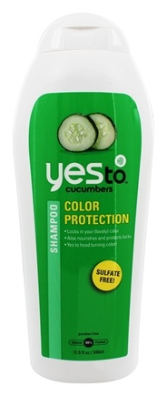 Yes To - Cucumbers Shampoo Color Protection - 11.5 oz.