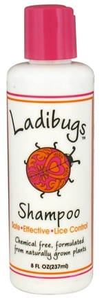 DROPPED: Ladibugs - Lice Control Shampoo - 8 oz.